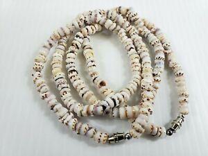 "Hawaii Unisex Souvenir Surfer Jewelry White Puka Shell Necklace 18"" ( QTY 2, 3 )"