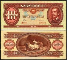 HUNGARY 100 FORINT 1957 P171a UNCIRCULATED
