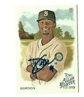 Seattle Mariners DEE GORDON  Signed 2019 Topps Allen & Ginter Card #240