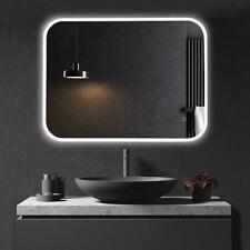 JC 24x32 Bathroom LED Vanity Mirror Dimmable Defogger Touch Sensor 3 Colors 5D