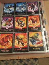 Skylanders Giants Collector Binder And Over 90 Cards - Very Good Condition