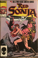Marvel Comics 1985 Red Sonja #1 Limited Series Comic Book