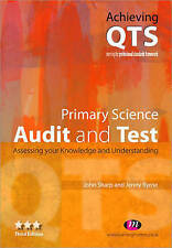 Primary Science: Audit and Test by Jenny Byrne, John Sharp (Paperback, 2007) 3rd