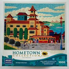 NEW HOMETOWN COLLECTION Heronim 1000 pc Jigsaw Puzzle CHINATOWN