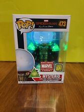 Funko Pop Mysterio Light #473 Spider-Man Home Marvel Collector Corps + Protector