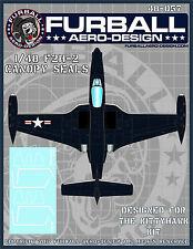 1/48 Furball  F2H-2 Banshee Canopy Seals for the Kittyhawk Kit