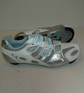 Louis Garneau Ergo Air Womens Road Cycling Shoes Size 39 Euro EXCELLENT CLEAN