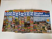 Model Railroader Magazine Lot Of 11 Magazines January - December 2007