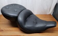 65 - 84 HARLEY DAVIDSON FLH MUSTANG PILLOW SEAT Nice Condition 6-FL69