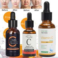 3 Types 20% Vitamine C Hyaluronique Acide Sérum Éclaircissant Visage Anti-tâche