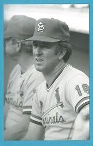 Claude Osteen (1980) St. Louis Cardinals Vintage Baseball Postcard PP01525