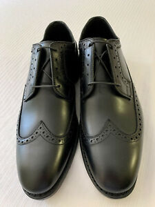 ALLEN EDMONDS:BLACK 100% ALL LEATHER HANDCRAFTED 9.5D $300 OFF MSRP: $425.00 NWT