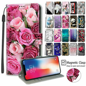 Chocolate Panda Rose Cat Butterfly Flip Wallet Phone Case For Nokia 6.3 G10 G20