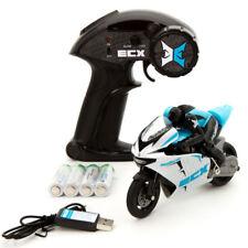 ECX RC ECX01004T1 1/14 Outburst Motorcycle RTR, Blue w/ 2.4GHZ Radio