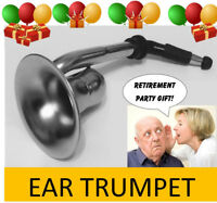 Ear Trumpet Horn For the Over The Hill Gang - No Batteries Required - Say What?