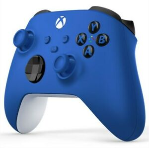 Xbox Wireless Controller Shock Blue - neueste Version f. Series X|S und Xbox One
