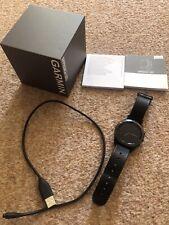 Garmin Approach S60 GPS Golf Watch, Premium Leather Strap