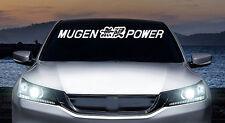 Mugen Power windshield banner JDM vinyl decal, car, trucks