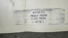 """LOT OF 8 MIDWESCO FW6847-1631HD SOCK BAG DUST COLLECTOR FILTER 140""""X9"""""""