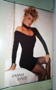 VANNA WHITE Vintage Sexy  Poster
