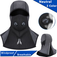 Full Face Mask Zipper Motorcycle Cycling Ski Balaclava Winter Sport Tactical Hat