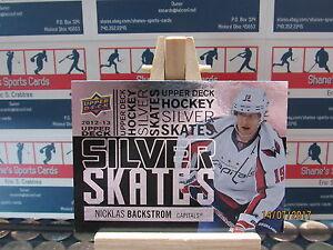 2012-13 Upper Deck Silver Skates #SS30 Nicklas Backstrom