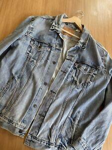 Levis denim jacket xxl Men