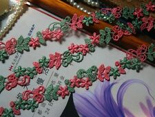 Colorful Venise flower  Lace Trim  - price for 1 yard