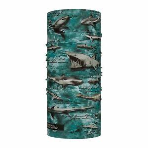 Buff New Original Neckwear ~ National Geographic Same Sea Sea green