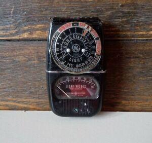 General Electric camera Light Exposure Meter MODEL: 8DW58Y4 vintage GE
