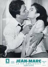 MARIE -JOSE NAT JACQUES CHARRIER LA VIE CONJUGALE 1964 LOBBY CARD ORIGINAL #5