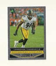 2013 Score Showcase 168 Lawrence Timmons numbered /99 FSU Steelers Dolphins