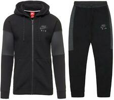 Nike Air Mens Hoodie & Joggers Full Tracksuit Set Jogging Bottoms Zip Top