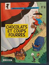 Benoît Brisefer 12 EO Chocolats et coups fourrés Peyo Lombard