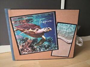 Scrapbooking Fotoalbum Album Folio Urlaub Meer  mit Video