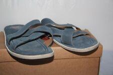 LEVI'S - Mules Cuir Daim Bleu - 44 FR - Ref  221756-709- 18 neuf