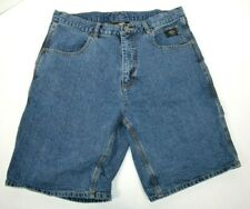 Harley Davidson Men's Denim Carpenter Shorts 34 Blue Jean