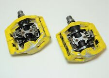 WELLGO DUAL SIDE DH CLIPLESS MOUNTAIN BICYCLE PEDALS 9/16 X 20 TPI SPD COMP