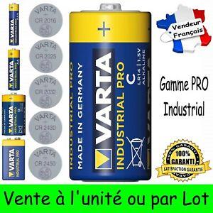 Piles Alcaline VARTA LR14 LR03 LR6 LR20 6LR61 CR2450 CR2430 CR2032 CR2025 CR2016