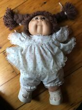 Early Cabbage Patch Doll Signature Brown Hair And Eyes