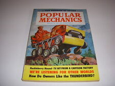 Popular Mechanics Magazine, September, 1960, Ford Thunderbird, An Eye on Space!