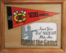 CHICAGO BLACKHAWKS PHOTO FRAME – NHL Licensed