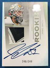 Jhonas Enroth 2009/10 Upper Deck The Cup Autograph Rookie Patch #249