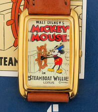 Mickey Mouse as Steamboat Willie Character Watch by Lorus in Box