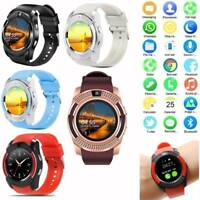 Bluetooth Smart Watch GSM SIM Card Slort Pedometer Camera for Samsung LG Android