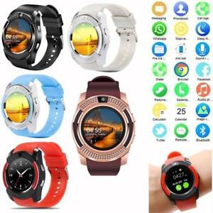 Bluetooth Smart Watch Phone Mate GSM Watch Pedometer for Samsung S10 S9 S8 ASUS