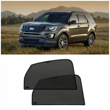 Rear Door Car Window Sun Shade Shield Blind Mesh For Ford Explorer V 2010-2019