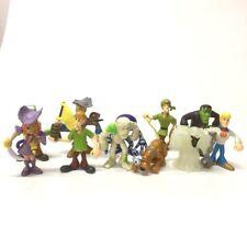 "random 11Pcs Scooby Doo Crew Pirates Mates Shaggy Dog Fireman 2.5"" Figure toys"