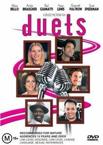 Duets DVD Huey Lewis - Gwyneth Paltrow - KARAOKE MOVIE - REGION 4 AUST