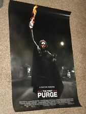 "The First Purge ""Final"" 27x40 Original D/S Movie POSTER"